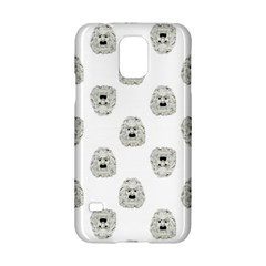 Angry Theater Mask Pattern Samsung Galaxy S5 Hardshell Case