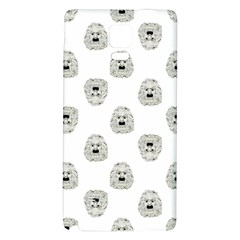 Angry Theater Mask Pattern Galaxy Note 4 Back Case