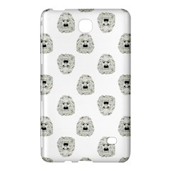 Angry Theater Mask Pattern Samsung Galaxy Tab 4 (7 ) Hardshell Case