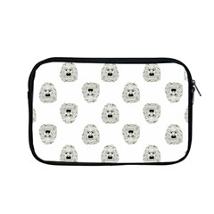 Angry Theater Mask Pattern Apple Macbook Pro 13  Zipper Case