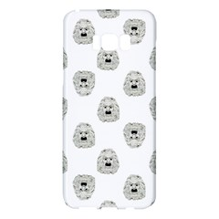 Angry Theater Mask Pattern Samsung Galaxy S8 Plus Hardshell Case