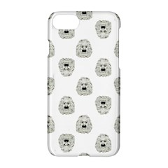 Angry Theater Mask Pattern Apple Iphone 8 Hardshell Case