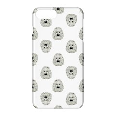 Angry Theater Mask Pattern Apple Iphone 8 Plus Hardshell Case