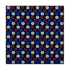 Eye Dots Blue Magenta Face Towel by snowwhitegirl