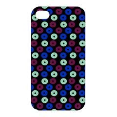 Eye Dots Blue Magenta Apple Iphone 4/4s Hardshell Case