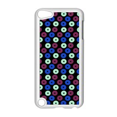 Eye Dots Blue Magenta Apple Ipod Touch 5 Case (white)