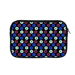 Eye Dots Blue Magenta Apple Macbook Pro 13  Zipper Case by snowwhitegirl