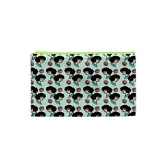 Redhead Girl Blue Cosmetic Bag (xs)