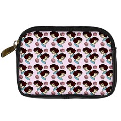 Redhead Girl Pink Digital Camera Cases