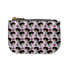 Redhead Girl Pink Mini Coin Purses