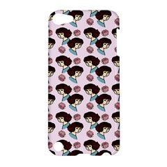 Redhead Girl Pink Apple Ipod Touch 5 Hardshell Case