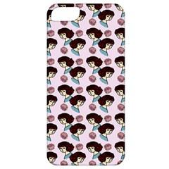 Redhead Girl Pink Apple Iphone 5 Classic Hardshell Case