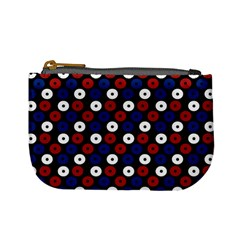 Eye Dots Red Blue Mini Coin Purses by snowwhitegirl