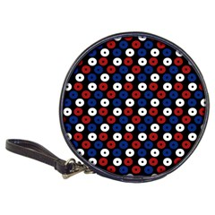 Eye Dots Red Blue Classic 20 Cd Wallets