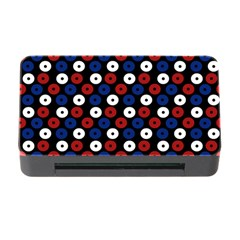 Eye Dots Red Blue Memory Card Reader With Cf