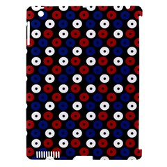Eye Dots Red Blue Apple Ipad 3/4 Hardshell Case (compatible With Smart Cover)