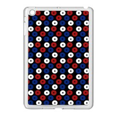 Eye Dots Red Blue Apple Ipad Mini Case (white)
