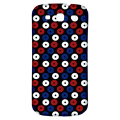 Eye Dots Red Blue Samsung Galaxy S3 S Iii Classic Hardshell Back Case