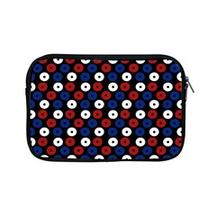 Eye Dots Red Blue Apple Ipad Mini Zipper Cases