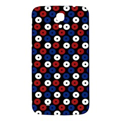 Eye Dots Red Blue Samsung Galaxy Mega I9200 Hardshell Back Case