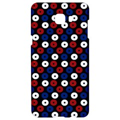 Eye Dots Red Blue Samsung C9 Pro Hardshell Case