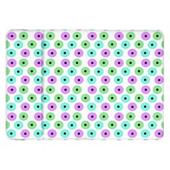 Eye Dots Green Violet Samsung Galaxy Tab 8 9  P7300 Flip Case