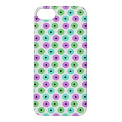 Eye Dots Green Violet Apple Iphone 5s/ Se Hardshell Case