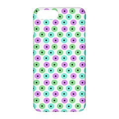Eye Dots Green Violet Apple Iphone 8 Plus Hardshell Case