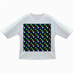 Eye Dots Green Blue Red Infant/toddler T Shirts