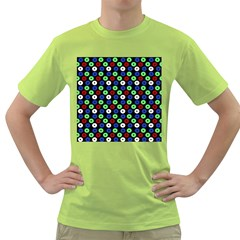 Eye Dots Green Blue Red Green T Shirt