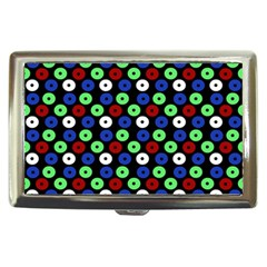 Eye Dots Green Blue Red Cigarette Money Cases
