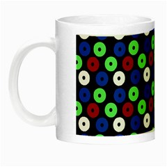 Eye Dots Green Blue Red Night Luminous Mugs