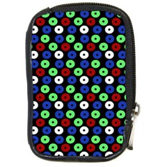 Eye Dots Green Blue Red Compact Camera Cases