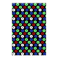 Eye Dots Green Blue Red Shower Curtain 48  X 72  (small)