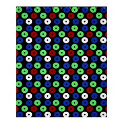 Eye Dots Green Blue Red Shower Curtain 60  X 72  (medium)