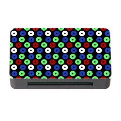 Eye Dots Green Blue Red Memory Card Reader With Cf