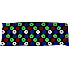 Eye Dots Green Blue Red Body Pillow Case Dakimakura (two Sides)