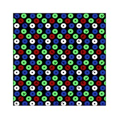 Eye Dots Green Blue Red Acrylic Tangram Puzzle (6  X 6 )