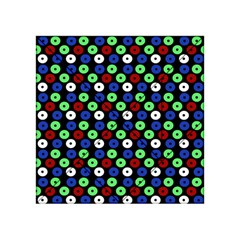 Eye Dots Green Blue Red Acrylic Tangram Puzzle (4  X 4 )