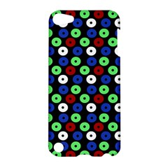 Eye Dots Green Blue Red Apple Ipod Touch 5 Hardshell Case