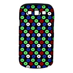 Eye Dots Green Blue Red Samsung Galaxy S Iii Classic Hardshell Case (pc+silicone)