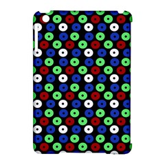 Eye Dots Green Blue Red Apple Ipad Mini Hardshell Case (compatible With Smart Cover)