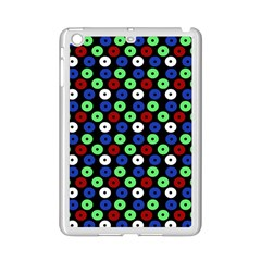 Eye Dots Green Blue Red Ipad Mini 2 Enamel Coated Cases
