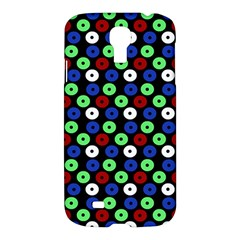 Eye Dots Green Blue Red Samsung Galaxy S4 I9500/i9505 Hardshell Case