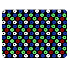 Eye Dots Green Blue Red Samsung Galaxy Tab 7  P1000 Flip Case