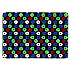 Eye Dots Green Blue Red Samsung Galaxy Tab 8 9  P7300 Flip Case