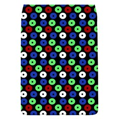 Eye Dots Green Blue Red Flap Covers (s)