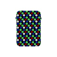 Eye Dots Green Blue Red Apple Ipad Mini Protective Soft Cases
