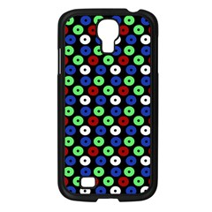 Eye Dots Green Blue Red Samsung Galaxy S4 I9500/ I9505 Case (black)