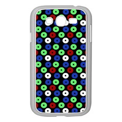 Eye Dots Green Blue Red Samsung Galaxy Grand Duos I9082 Case (white)